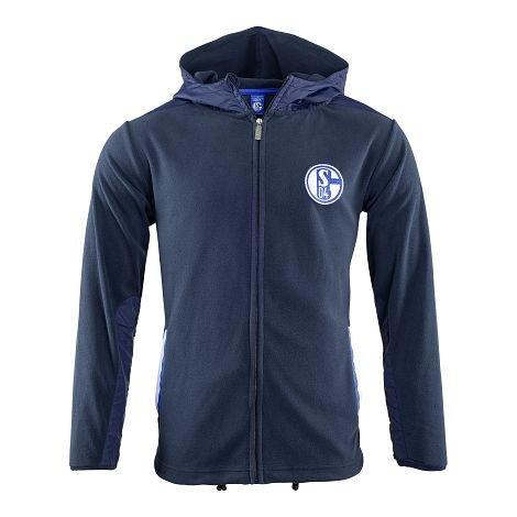 FC Schalke 04 Fleece Jacke Kapuze Kids