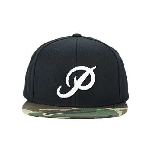 Primitive Classic P Snapback Cap Hat Black Camo