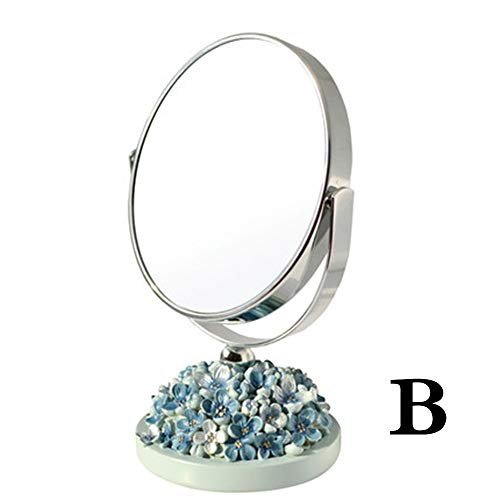 Bathroom Vanity Mirrors Freestanding Cosmetic Mirror 3x Zoom, 5 Inch Make Up - Bathroom Celebration Homes Mirrors