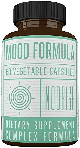Mood Enhancer – Mood Stabilizer – Mood Support Supplement with Ashwagandha, GABA, 5-HTP, Chamomile, and St. John s Wort. Anxiety and Stress Supplement.