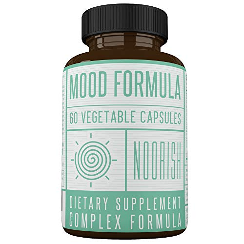 Mood Enhancer - Mood Stabilizer - Mood Support Supplement with Ashwagandha, GABA, 5-HTP, Chamomile, and St. John's Wort. Anxiety and Stress Supplement. (5 Htp And St Johns Wort Taken Together)