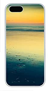 iPhone 5 5S Case landscapes nature sea 55 PC Custom iPhone 5 5S Case Cover White