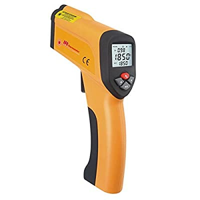 Blu7ive Non-Contact Digital Infrared Laser Thermometer , Instant Read Temperature Gun Pyrometer -58~2912?/-50~+1600?