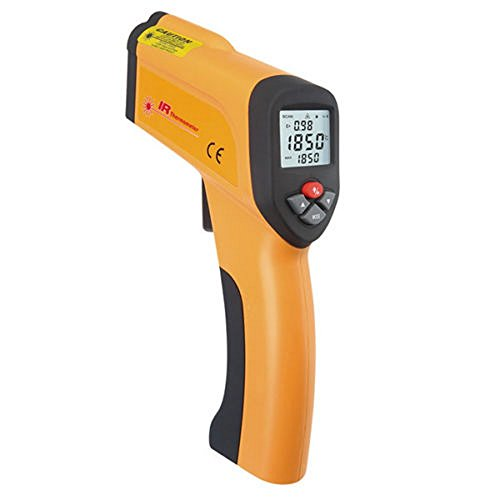 Blu7ive Non-Contact Digital Infrared Laser Thermometer , Instant Read Temperature Gun Pyrometer -58~2912℉/-50~+1600℃