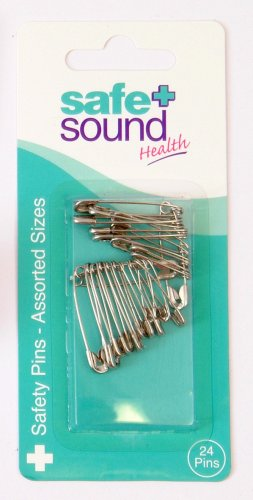 Murrays Safe & Sound Nickel Safe & Soundfety Pins SA8920