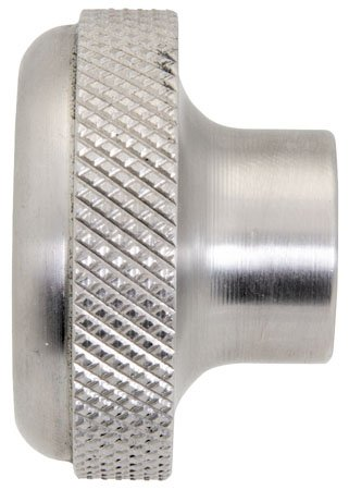 2'' Dia., 3/8 Reamed, Stainless Steel, Dome Knurled Knob (1 Each) by RSC