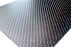 cncarbonfiber 1.5mm 200x300mm 100% Carbo...