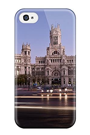 Amazon.com: Durable Madrid City Back Case/cover For Iphone 4/4s