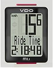 VDO M1.1 digitale fietscomputer fietscomputer, zwart-rood