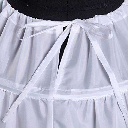 Donna Senza 6 Bianca Hoop Da Tendycoco Sposa Abito Con Per Crinolina Sottoveste Cinturini Spalline Slip xEvqw6f