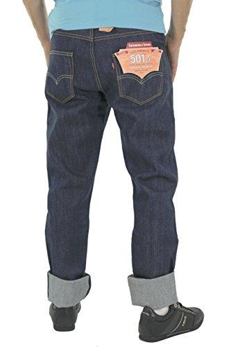 Uomo Jeans Fit Levi's 501 Original Blu IqwC8F