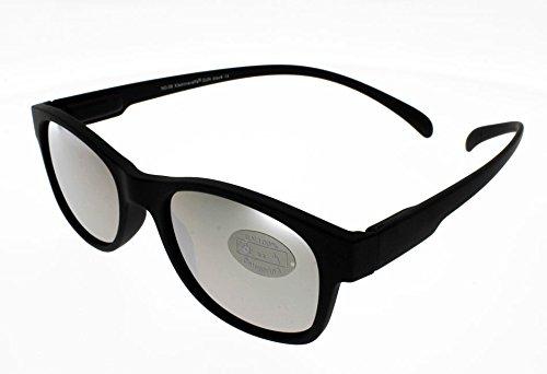 Klammeraffe Gafas de sol 09 negro vasos Espejos: S Attache ...