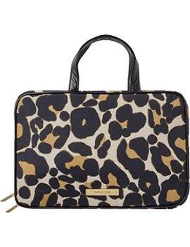 Trina Tartan + Twine Weekender Tawney Steppe Safari Animal Print Leopard Travel Cosmetic (Trina Pencil Holder)
