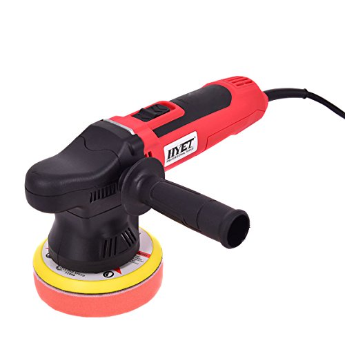 NEW 5'' Variable Speed Dual-Action Polisher Random Orbital Polisher Kit Auto Detail by Jikkolumlukka