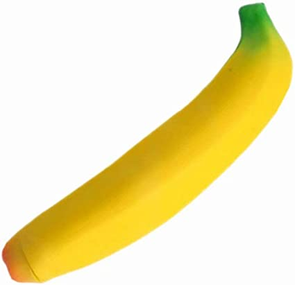 Novelty Banana Silicone Anti Stress Relief Funny Fruit Toy Gift