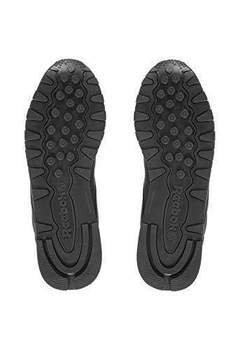 CL Reebok nobuck cuero Zapatillas LTHR 3912 Negro de unisex qCd4C