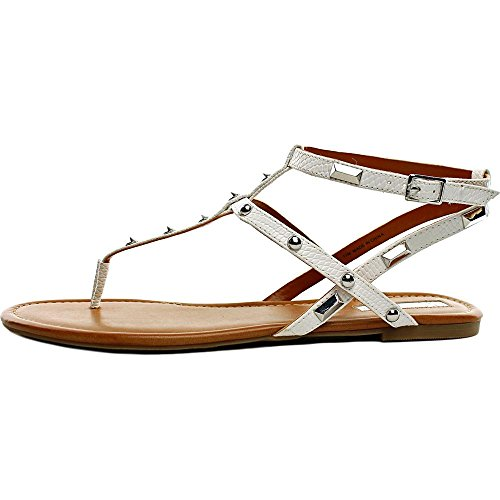 Concepts International White Inc Mirabai Casual Toe Sandals T Bright Womens strap Split q5ffxaw