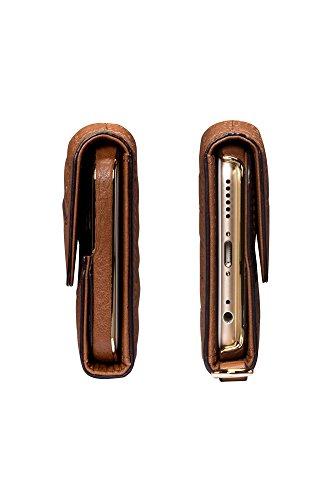 Sena Cases SFD231ALUS Isa Wallet Clutch Schutzhülle für Apple iPhone 6/6s schwarz