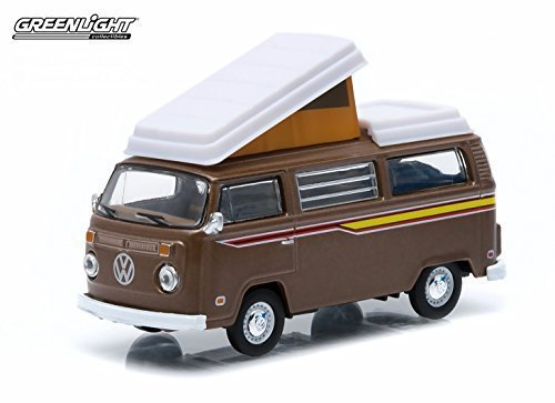 1/64 1972 Volkswagen Type 2 (T2B) Camper Van - Hobby Exclusive 29812