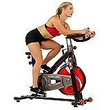 Sunny Health & Fitness SF-B1002C Chain Drive Indoor Cycling Bike, Grey