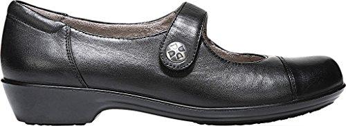 Piso Zapato Black Leather Talla Naturalizer Mujeres De qvwxaxHt