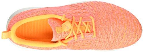 Nike Frauen Roshe One Flyknit Laufschuhe Orange
