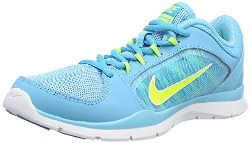 Nike Women's Flex Trainer 5 Shoe Clearwater/Volt/Bl Lgn/White