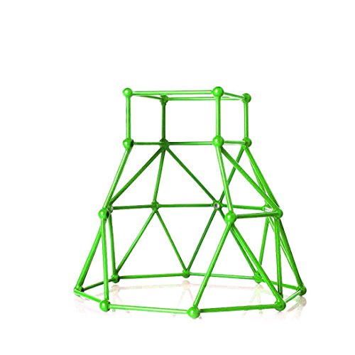 Fanxing Baby Monkey Toy Stent  Jungle Gym Playset Interactive Baby Monkey Climbing Stand For Monkey Mia  Red   Green