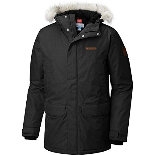 - Columbia Penn's Creek Parka - Men's Black Melange, L