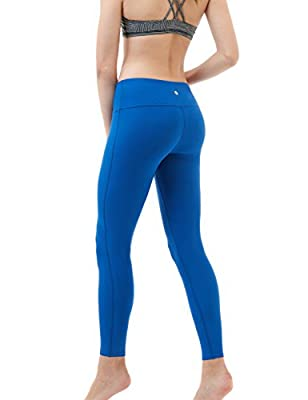 Tesla Women's Yoga Pants Mid-Waist Leggings w Hidden Pocket FYP41