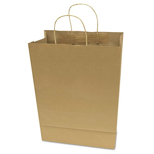 Cosco Plastic Box (COSCO - Premium Large Brown Paper Shopping Bag, 50/Box - Sold As 1 Box - Made of paper.)