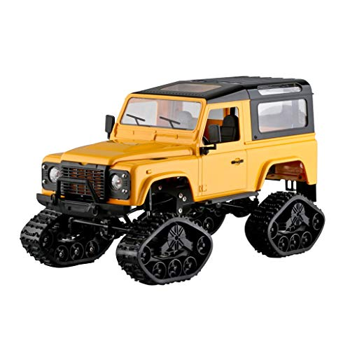 Kybers Rc Crawlers Trucks FY003A 1/16 RC 2.4GHz 4WD Off Road Rock Metal Frame Truck RC Car Remote Control - Hobby Adventure Toy for Kids
