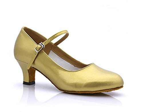 Ruanlei Plaza del Golden Base de Talón shoes Blanda Medio RAqrRg