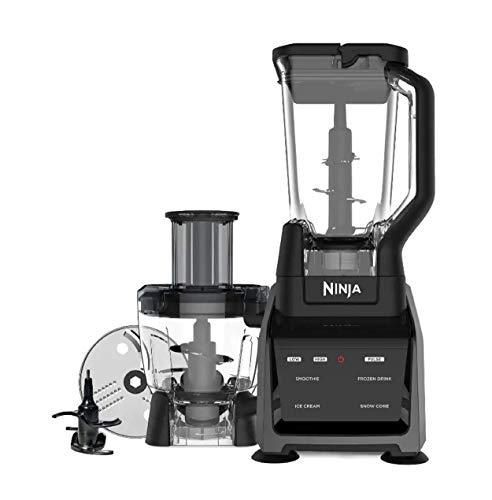 Ninja Intelli-Sense Kitchen System, Black (Renewed) (Ninja Food Processor 1500)
