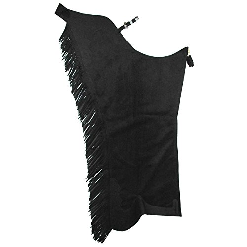Hobby Horse Classic Fringed Ultrasuede Show Chaps - Horse Show Chaps