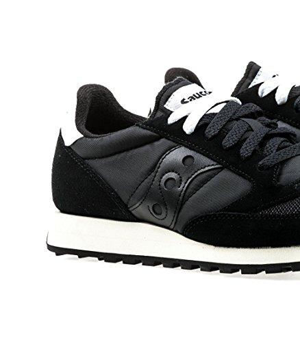Saucony Jazz Original Vintage Black/White 810, Sneaker Uomo Black/black