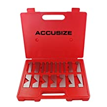 Accusize - 17 Pcs/set Precision Angle Block Set, #EJ99-2117