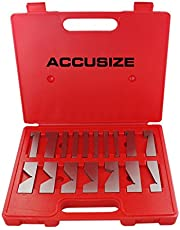 Accusize Industrial Tools 17 pc Precision Angle Block Set, Ej99-2117