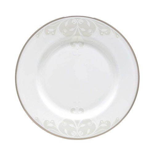 Lenox Opal Innocence Scroll Salad Plate