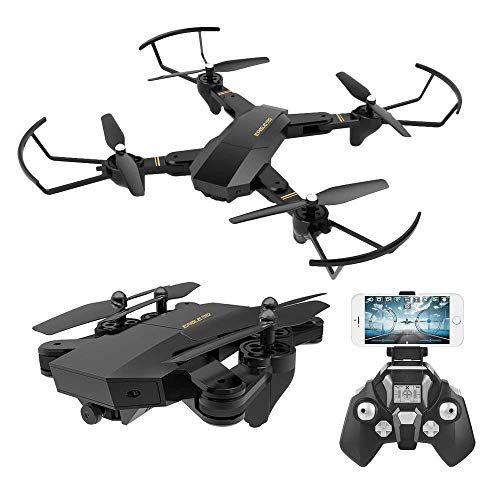 (RC Quadcopter with 2.4GHz 6-Axis Gyro Altitude Hold Function and 720P HD 2MP Camera Helicopter)