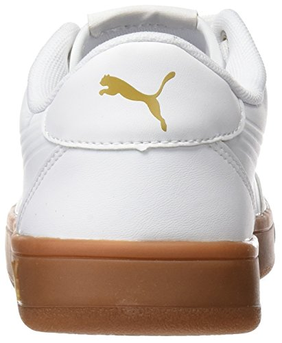 Blanco metallic Zapatillas Adulto Mono Court White puma White Puma Gold puma Breaker Unisex L wnRqq70I