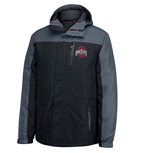 ncaa-ohio-state-buckeyes-mens-the-tundra-heavyweight-parka-jacket-black-x-large