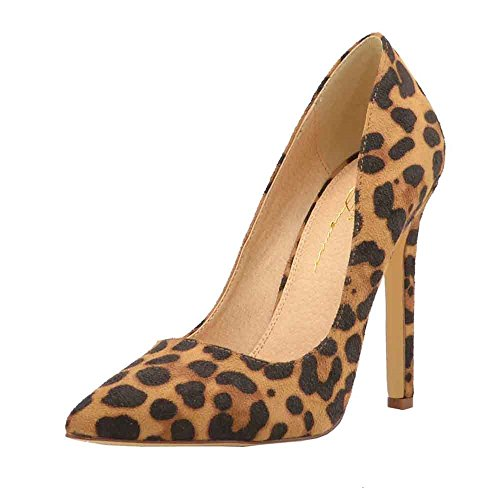 Olivia Jaymes Women's Dress Pump | Pointy Toe Low Cut Vamp | Stiletto Thin Heel Slip-on Pumps (6.5, (Pointy Toe Women Dress Pump)