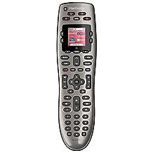 Logitech Harmony 650 Universal - Mando a distancia (IR Wireless, Black, Audio, DVD/Blu-ray, TV, touch screen, Lithium-Ion (Li-Ion), USB)