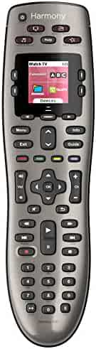 Logitech Harmony 650 Infrared All in One Remote Control, Universal Remote Logitech, Programmable Remote (Silver)
