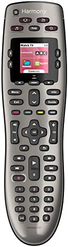 Logitech - Harmony 650 - Control Remoto Universal - Plata