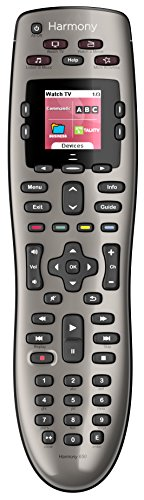 Device Navigation Accessories (Logitech Harmony 650 Infrared All in One Remote Control, Universal Remote Logitech, Programmable Remote (Silver))