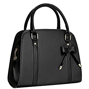 COOFIT Lady Purses and Handbags Little Bow Leisure Top-Handle Bags Shoulder Bag Purse