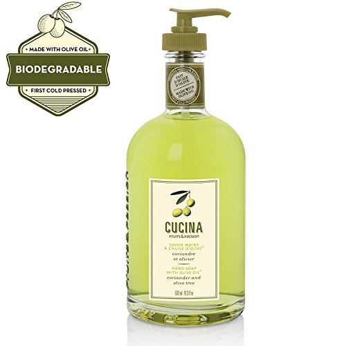 Fruits & Passion Foaming Bath - Cucina Fruits & Passion Hand Soap with Oliver - (coriander and oilve tree 500Ml)