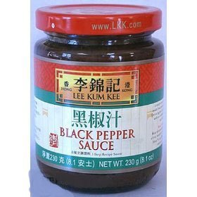 Lee Kum Kee Black pepper sauce 8 oz Pepper Steak Stir Fry